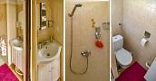 Kúpelňa-sprcha, WC, hygienické potreby, sušič vlasov.